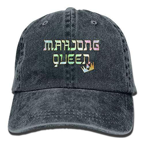 Sitian Mahjong Queen Mahjongg Mah-Jong Chinese Jewish Game1 Adult Sport Adjustable Baseball Cap Cowboy Hat