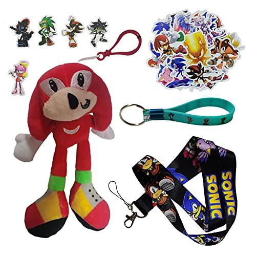 Sonic Pendants El nuevo ratón supersónico Tarsnak erizo muñeca Sonic 2 juguete de peluche Super Sonic 2