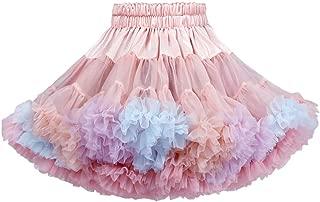 Fairy Baby Girls Dance Tutu Skirt Princess Fluffy Soft Ballet Birthday Party Pettiskirt