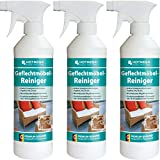HOTREGA 3x Trenzado Muebles de Limpiador Spray de 500ML Botella