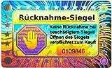 70 sellos de holograma 3D con nmero de serie  40 x 25 mm plata brillante  sello de retorno, sello de seguridad, sello de calidad, sello de garanta de papel, sello adhesivo de seguridad
