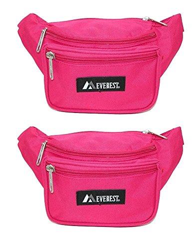 Everest Signature Fanny Pack Hot Pink Set of 2