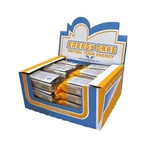 Energy Cake – Haferflockenriegel mit saftig weicher Form, überzogen mit zart schmelzender Schokolade, aus über 90% Haferflocken für mehr Energie und weniger Hunger - Weiße Schokolade 1x 125g
