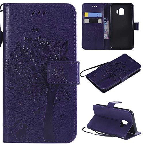 BoxTii® Coque Galaxy J2 Core, Galaxy J2 Core Housse Coque, Etui pour Samsung Galaxy J2 Core (#9 Violet)