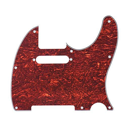 ABMBERTK Golpeador de Guitarra eléctrica, Pick Guard 4Ply, para Guitarra eléctrica de...