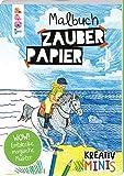 Kreativ Minis Zauberpapier Malbuch: 24 Motive mit Mustern und Details