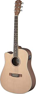 James Neligan ASY-DCE LH ASYLA Series Dreadnought Cutaway Acoustic-Electric Guitar