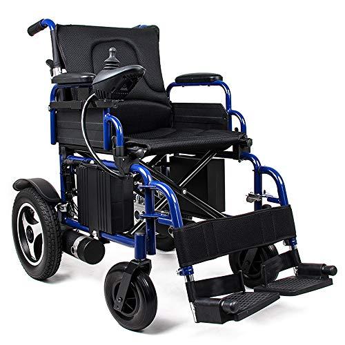 MYYINGELE Elektrischer Rollstuhl Faltbarer, Leichter Elektrischer Elektrorollstuhl, Elektrorollstuhl Li-ion-akku Für Die Wohnung,ältere Und Behinderte Menschen