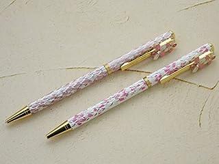 スワロフスキー クリスタル ボールペン サクラ 2本セット ボールペン 桜