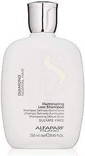 Alfaparf Milano Semi Di Lino Diamond Shine Illuminating Low Shampoo - Sulfate Free - For Normal Hair - Paraben and Paraffi...