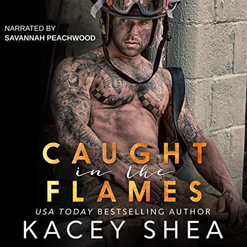Caught in the Flames audiobook cover art
