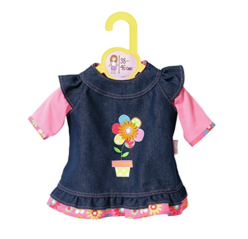 Zapf Creation 870006 Dolly Moda Jeanskleid, Puppenkleidung 39-46 cm