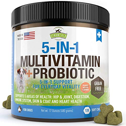 Strawfield Pets Dog Multivitamin (5-in-1)
