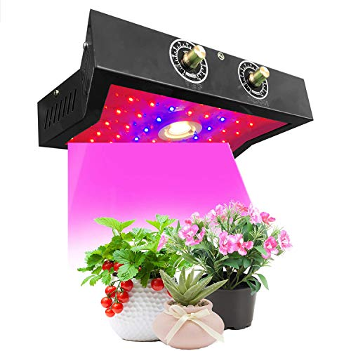 2400W LED Grow Light Full Spectrum for Indoor Plants Veg and Flower,led Plant Growing Light Fixtures with Daisy Chain Function, Full Spectrum with Adjustable Bloom and Veg Switch
