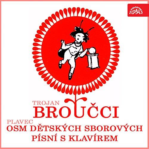Osm dětských sborových písní s klavírem, .: Alík, pes - Žáby a cvrček