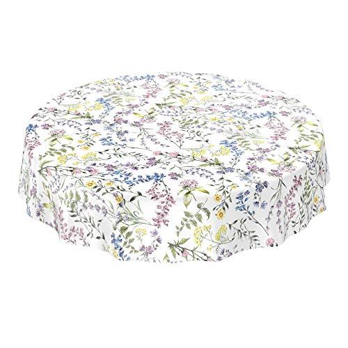 Anro Mantel de hule lavable, para mesa