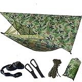 Yiran Hamac de camping - Tente de randonnée étanche à suspendre - Ouverture rapide - Avec sac de...
