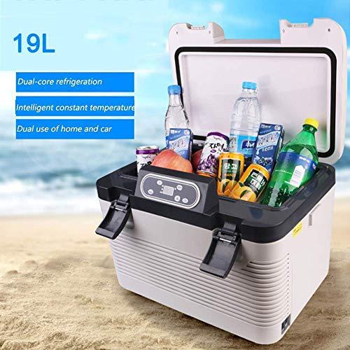 YAMMY Mini Refrigerador/Congelador de Coche Portátil Vehículo Coche Camión RV Barco Mini Refrigerador Refrigerador Eléctrico para Conducir Viaje Pesca Outd (Silla)