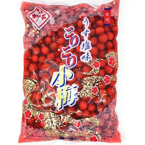 神尾食品 こりこり小梅(赤)S 1kg 2個
