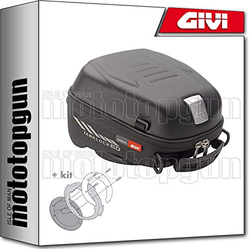 givi tank bag tanklocked st605 + flange compatible with bmw g 310 r 2019 19