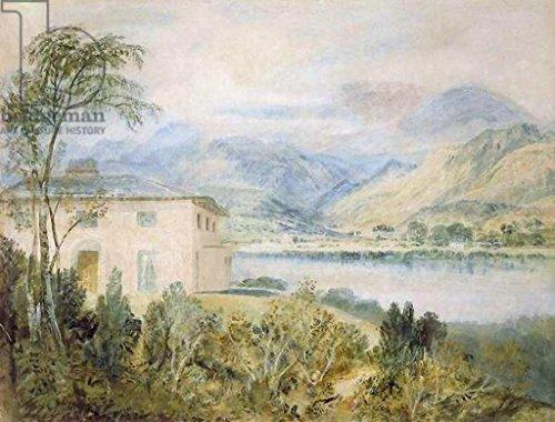 Kunst für Alle Impresión artística/Póster: Joseph Mallord William Turner Tent Lodge by Coniston Water 1818' - Impresión, Foto, póster artístico, 60x45 cm