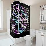 shengmengshi stilvoll pflegeleichter Stoff mit Verschluss für Stände und Badewannen maschinenwaschbar Polyestergewebe White 150x200cm