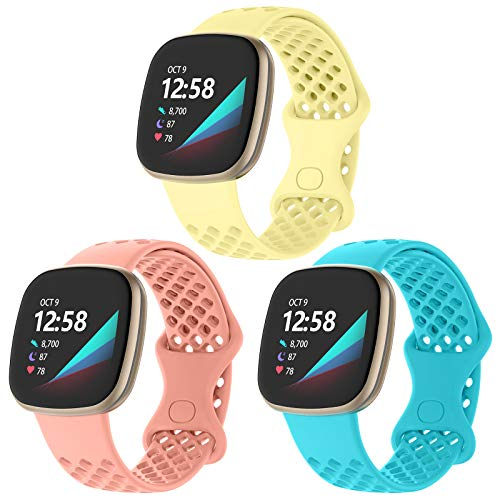 Adepoy Fitbit Versa 3 Watch Sports Band