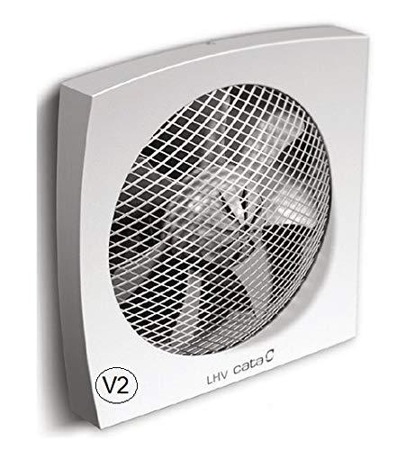 Cata LHV Axial-Wandventilator Fenster Ventilator Fenster-Lüfter Fenster-Einbaulüfter (190 mm / 700 m³/h)