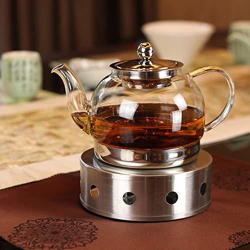 beiyoule Calentador de tetera, tetera, calentador de tetera, calentador de cafetera, base de tetera para mantener la temperatura del te