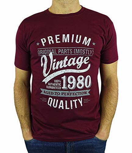 My Generation T-Shirts Vintage Year - Aged to Perfection - 40th Birthday Gift/Present Mens T-Shirt...