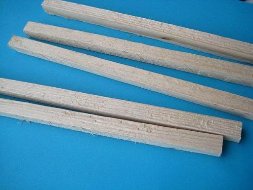 Holzbalken für den Krippenbau, 15 Stück