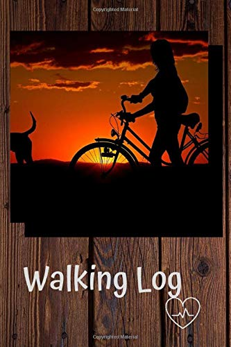 Walking Log: Healthy Lifestyle, Record of Steps and Distance, Trekking and Hiking, Tracking Progress, Walking Log Book, Fitness Goals.