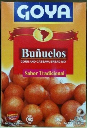 Goya Bunuelos - Corn and Cassava Bread Mix