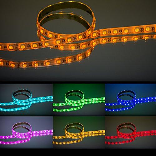 Preisvergleich Produktbild RGBW-LED-Streifen für farbintensive Beleuchtung / 5 Meter 24 V IP 54