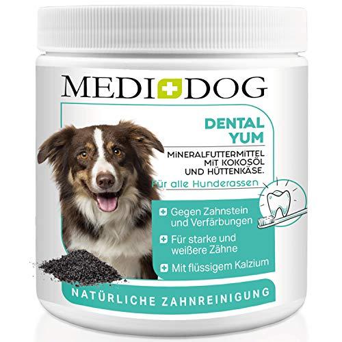 Medidog Dental YUM 300g Zahnpflege Granulat für Hunde effektiv gegen Mundgeruch und Zahnstein Zahnsteinentferner für den Hund und Welpen frischer Atem