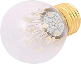 X-DREE G45 LED Vintage Filament Lamp Light Bulb AC 85-265 ν E27 2200K Yellow (6f75662a-a222-11e9-8d7c-4cedfbbbda4e)