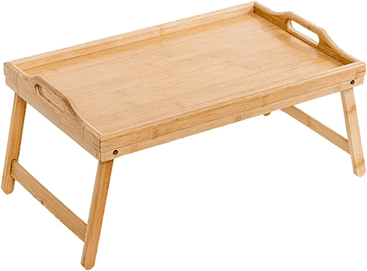 Portable Bamboo Wood Bed Tray Computer Direct sale El Paso Mall of manufacturer Breakfast Stand Table Lap