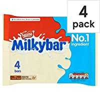 [Nestle ] Milkybarホワイトチョコレートマルチパック4×25グラム - Milkybar White Chocolate Multipack 4 X 25g [並行輸入品]