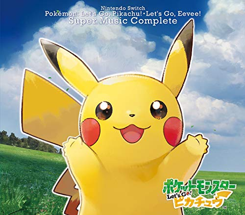 Nintendo Switch Pokemon Let's Go! Pikachu.Let's Go! Eevee Super Music Co