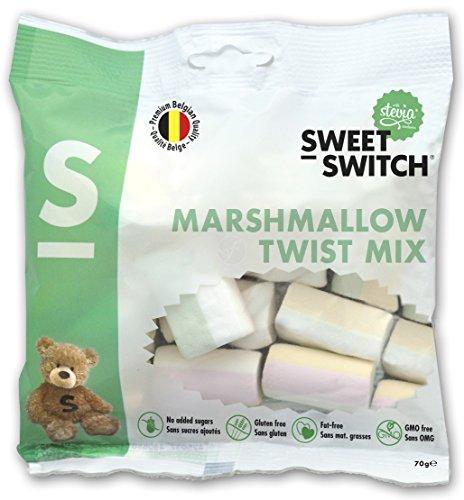 Sweet-Switch Marshmallows ohne Zuckerzusatz, 70g