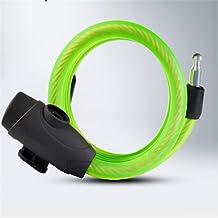 Fietsslot Fietsslot Stalen Ring Lock Mountain Bike Anti-diefstal Steel Cable Lock Fietsaccessoires Key Anti-diefstal Fiets...