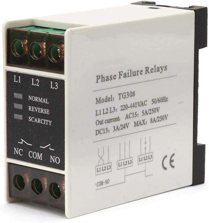YASEKING AC 220-440V Phase 3-Phase Seq Regular dealer Protector,Mini Sequence OFFicial