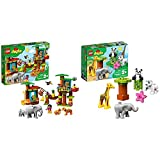 LEGO DUPLO Town Tropical Island 10906 Building Bricks, New 2019 (73 Pieces) & DUPLO Town Baby Animals 10904 Building Bricks, New 2019 (9 Pieces)