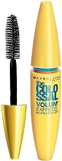 Maybelline New York Volume Express Colossal Masacara, Waterproof, Black, 10g