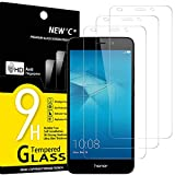 NEW'C Lot de 3, Verre Trempé Compatible avec Huawei Honor 5C, Film Protection écran sans Bulles d'air Ultra Résistant (0,33mm...