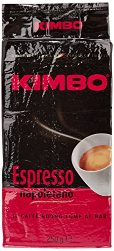 20x KIMBO Kaffee Espresso Napoletano 250g Packung gemahlen ground coffee caffè