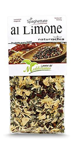 Naturischia - 3 confezioni di preparato per Spaghettata al limone 100 gr. ciascuna - Prodotto tipico Ischia