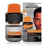 L'Oréal Paris Men Expert Colorazione Uomo One-Twist All-in-One, Risultato naturale, Applicazione facile e veloce, Nero Naturale (01)