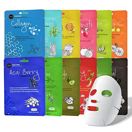 Celavi Collagen Facial Face Mask...