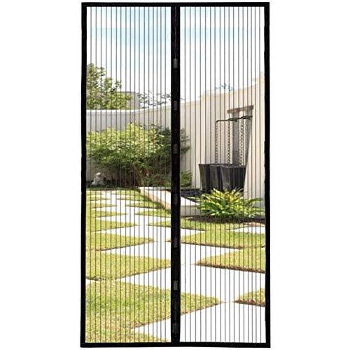 Mosquitera Magnética, Puerta de Pantalla Magnética Anti Insectos Moscas Y Mosquitos con Imanes Cierre Automático, para Puertas